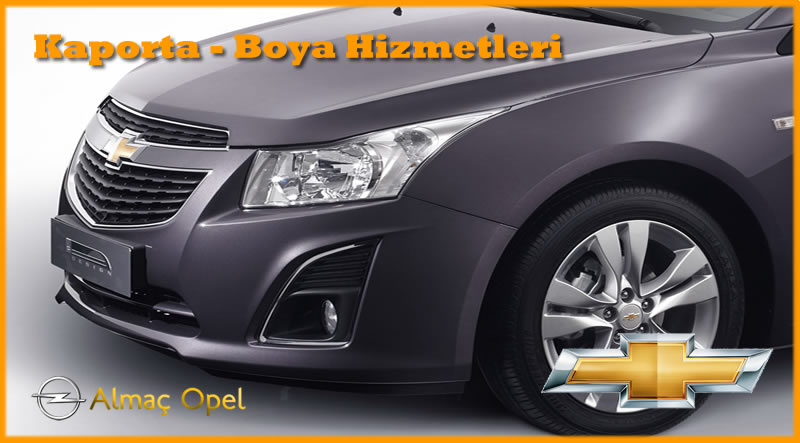 Chevrolet-Kaporta-Boya-Hizmetleri