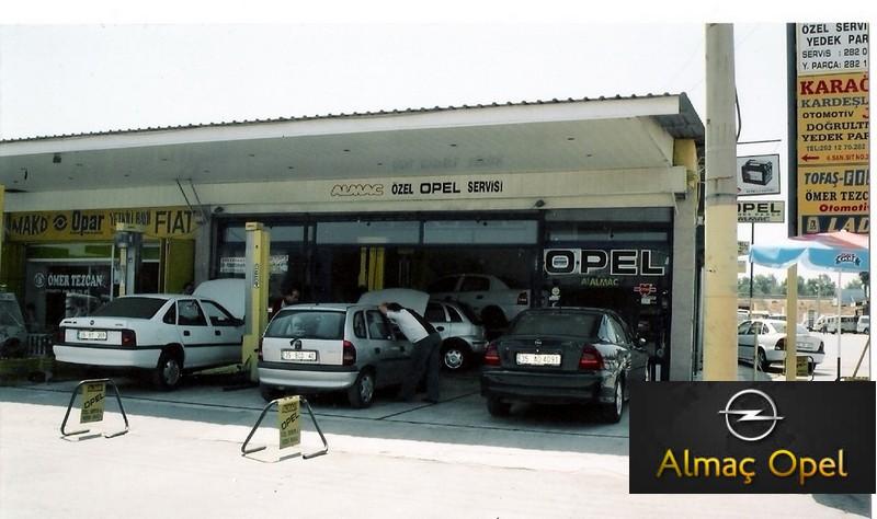 ALMAÇ OPEL - Chevrolet Özel Servis 6. Sanayii