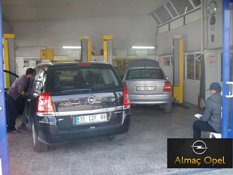 ALMAÇ OPEL - Chevrolet Özel Servis Tamirhane